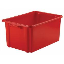 Cheap Stationery Supply of Strata Jumbo Storemaster Crate 48.5L Red HW048-RED Office Statationery