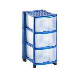 Cheap Stationery Supply of Strata Mobile Unit with 3 Large Drawers HW430 412x322x700mm HW430 Office Statationery