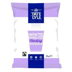 Cheap Stationery Supply of Tate & Lyle White Vending Sugar 2kg (Pack of 6) A00696PACK Office Statationery