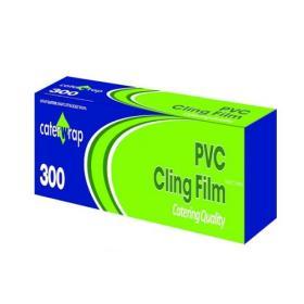Caterwrap Cling Film 300mmx300m Cutter Box 32C08
