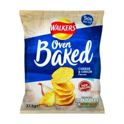 Cheap Stationery Supply of Walkers Baked Cheese and Onion 37.5g (Pack of 32) 101011 Office Statationery