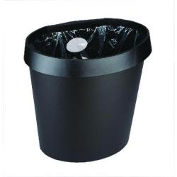 Cheap Stationery Supply of Avery DTR Eco Waste Bin 18 Litre Black DR500BLK Office Statationery