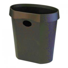 Avery DTR Eco Waste Bin 18 Litre Black DR500BLK