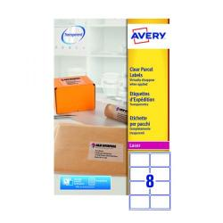 Cheap Stationery Supply of Avery Laser Label 99.1x67.7mm 8 Per Sheet Clear (Pack of 200) L7565-25 Office Statationery