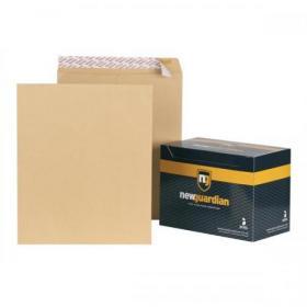 New Guardian Envelopes FSC Pocket Peel & Seal Heavyweight 130gsm 444x368mm Manilla Ref B27713 Pack of 125