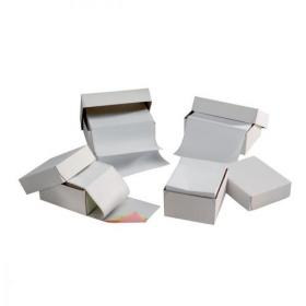 5 Star Office Listing Paper 3-Part Carbonless Perf 56/53/57 11inchx241mm White/Yellow/Pink 700 Sheets