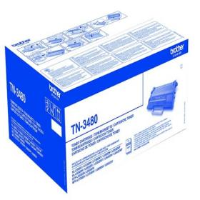 Brother Black High Yield Toner TN3480 Page yield 8000
