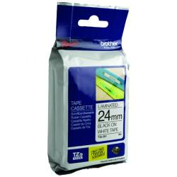 Cheap Stationery Supply of Brother P-Touch 24mm Black on White TZE251 Labelling Tape Office Statationery