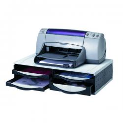 Cheap Stationery Supply of Fellowes Machine Organiser Platinum/Grey 24004 Office Statationery