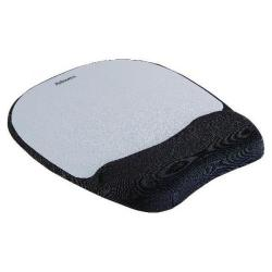 Cheap Stationery Supply of Fellowes Memory Foam Mouse Pad Black/Silver 9175801 Office Statationery