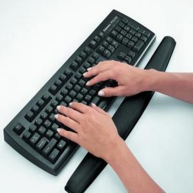 Fellowes Memory Foam Keyboard Wrist Support Black 9178201