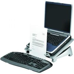 Cheap Stationery Supply of Fellowes Office Suites Laptop Riser Plus Black/Silver 8036701 Office Statationery