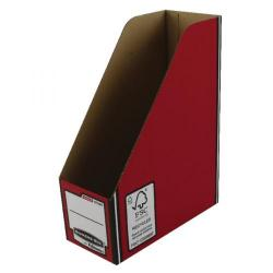 Cheap Stationery Supply of Fellowes Red/White Bankers Box Premium Magazine File Pack of 10 0722604 Office Statationery