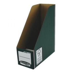 Cheap Stationery Supply of Fellowes Bankers Box Premium Magazine File Green/White 0723005 Office Statationery