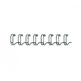 Fellowes Wire Binding Element 6mm Black (Pack of 100) 53218