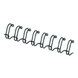 Cheap Stationery Supply of Fellowes Wire Binding Element 10mm Black (Pack of 100) 53265 Office Statationery