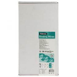Cheap Stationery Supply of Fellowes 53270 12mm White Wires Office Statationery