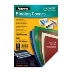 Cheap Stationery Supply of Fellowes FSC A4 Delta Cover Grey Pack of 100 5371103 5371103 Office Statationery