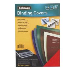 Cheap Stationery Supply of Fellowes FSC A4 Delta Cover Dark Red Pack of 100 5371603 5371603 Office Statationery