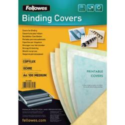 Cheap Stationery Supply of Fellowes CopyLux Cover A4 Ochre Pk 100 5380301 Office Statationery