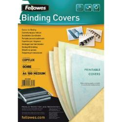 Cheap Stationery Supply of Fellowes Relido Binding Cover 3-6mm White 5385101 Office Statationery