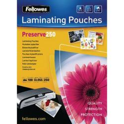 Cheap Stationery Supply of Fellowes Laminating Pouch A4 500micron Preserve 54018 00 Office Statationery