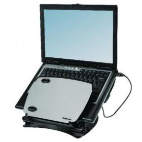 Fellowes Smart Suites Laptop Riser with USB Hub Black/Clear 8020201