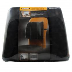 Cheap Stationery Supply of Fellowes Slimline Back Support Black 9190801 Office Statationery