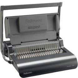 Cheap Stationery Supply of Fellowes Grey Quasar+ 500 Manual Comb Binding Machine 5627701 Office Statationery