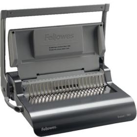 Fellowes Grey Quasar+ 500 Manual Comb Binding Machine 5627701