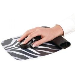 Cheap Stationery Supply of Fellowes 9362301 Silicone Wrist Rocker Zebra Pattern Office Statationery