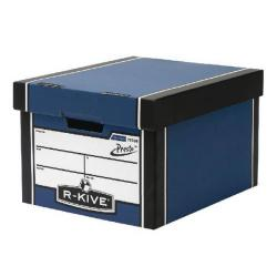 Cheap Stationery Supply of Fellowes Classic Blue Storage Box Plus Free Pack (Pack of 10) BB810438 Office Statationery