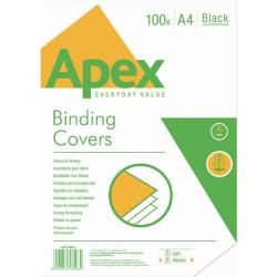 Cheap Stationery Supply of Fellowes Apex Leatherboard Cover White A4 6500901 Office Statationery