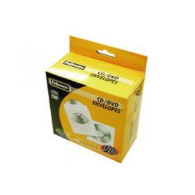 Fellowes CD Envelope Paper White (Pack of 50) 90690
