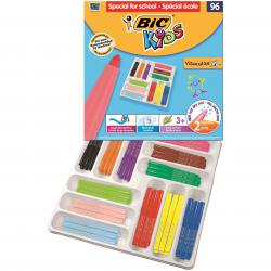 Cheap Stationery Supply of Bic Kids Visacolor XL Felt Pens Assorted (Pack of 96) 887839 Office Statationery