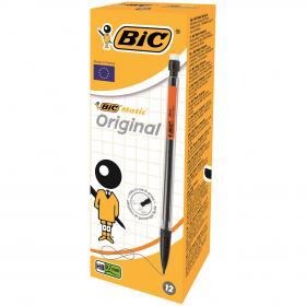 Bic Matic Original Mechanical Pencil Medium 0.7mm (Pack of 12) 820959
