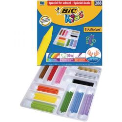 Cheap Stationery Supply of Bic Kids Plastidecor Crayons Assorted (Pack of 288) 887835 Office Statationery