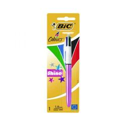 Cheap Stationery Supply of Bic 4 Colours Shine Blister (Pack of 10) 907906 Office Statationery