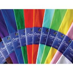 Cheap Stationery Supply of Bright Ideas Crepe Paper Assorted (Pack of 12) BI0568 Office Statationery