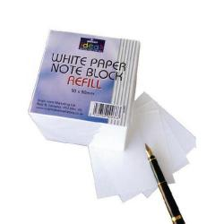 Cheap Stationery Supply of Bright Ideas Note Block Refill 700 White Sheets BI2350 Pack of 700 Office Statationery