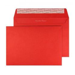 Cheap Stationery Supply of Blake Creative Colour Pillar Box Red Peel & Seal Wallet 162x229mm 120gsm Pack 500 306 Office Statationery