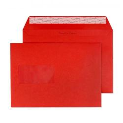 Cheap Stationery Supply of Blake Creative Colour Pillar Box Red Window Peel & Seal Wallet 162x229mm 120gsm Pack 500 306W Office Statationery