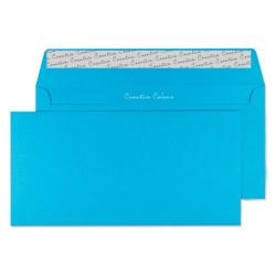 Cheap Stationery Supply of DL Wallet Envelope Peel and Seal 120gsm Cocktail Blue (Pack of 250) 209 Office Statationery