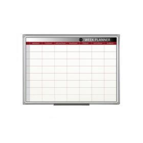 Bi-Office Magnetic Week Planner 900 x 600mm GA0333170
