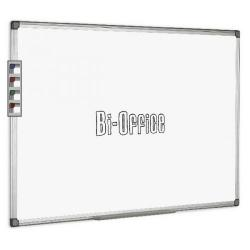 Cheap Stationery Supply of Bi-Office Aluminium Trim Drywipe Board 2400x1200mm MB0312170 Office Statationery