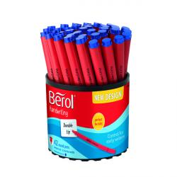 Cheap Stationery Supply of Berol Handwriting Pen Blue (Pack of 42) 2066665 Office Statationery