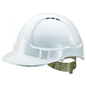 Comfort Vented Safety Helmet White BBVSHW