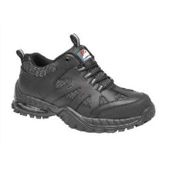 Cheap Stationery Supply of Briggs Proforce Air Bubble Black Leather Safety Trainer Size 9 4041-9 Office Statationery
