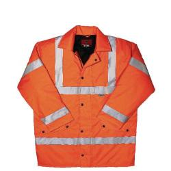 Cheap Stationery Supply of Proforce High Visibility Jacket Class 3 Medium Orange HV10OR-M Office Statationery