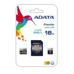 Cheap Stationery Supply of ADATA Premier SDHC UHS-I U1 Class10 16GB 16GB SDHC Class 10 memory card ASDH16GUICL10R Office Statationery